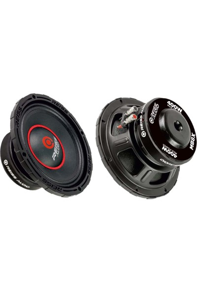 Reiss Audio RS-MB8X 400 Watt Max POWER+200 Watt Rms POWER+20CM Oto Midbass