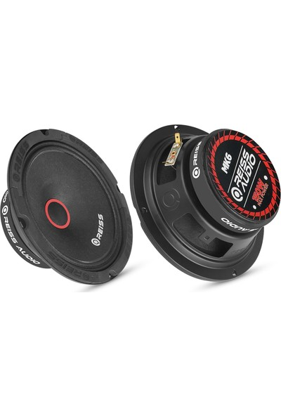 Reiss Audio Rs-Mk6 150 Watt Max Power+75 Watt Rms POWER+16CM Oto Midrange