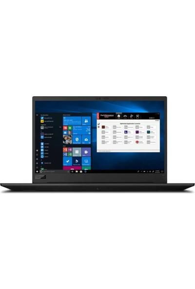 "Lenovo ThinkPad P1 Gen3 20TH0016TX01 i9-10885H 64GB 1TBSSD T2000 15.6"" W10Pro UHD Touch Taşınabilir İş İstasyonu"