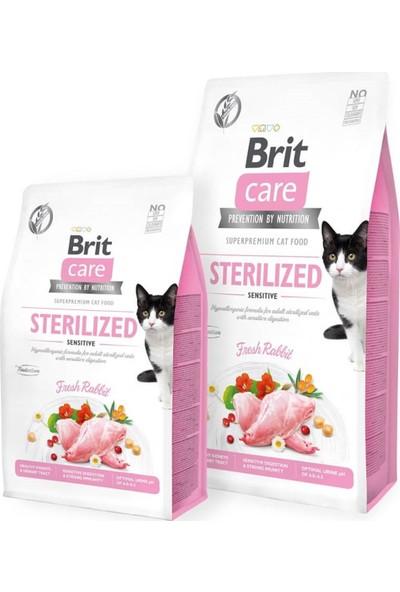 Brit Care Tahılsız Sterilised Sensitive Tavşanlı Kedi Maması 7kg