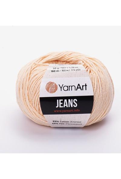 Yarnart Jeans Amigurumi Örgü Ipi 73 Ten Rengi