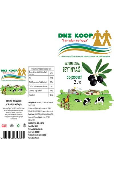 Dnz Koop Naturel Sızma Zeytinyağı 2000 ml