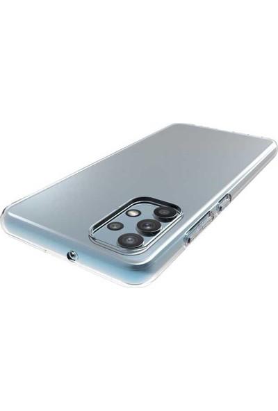Tekno Grup Xiaomi Redmi Note 9 4g Kılıf Lüx Silikon Kılıf Şeffaf + Nano Ekran Koruyucu Şeffaf