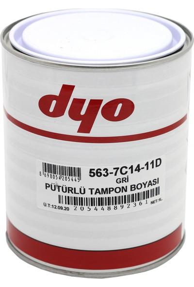 Dyo Pütürlü Tampon Boyası Gri 1 kg