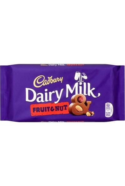 Cadbury Dairy Fruıt & Nut 200 gr