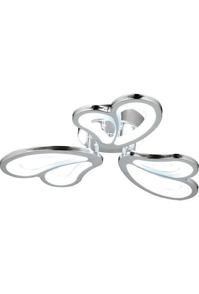 Luna Lighting Modern LED Plafonyer 3 Lü Avize