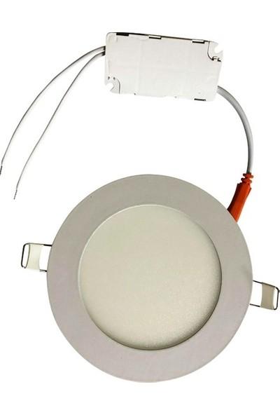 Seldur 3 W Ultra Slim Sıva Altı Led Panel Beyaz Işık
