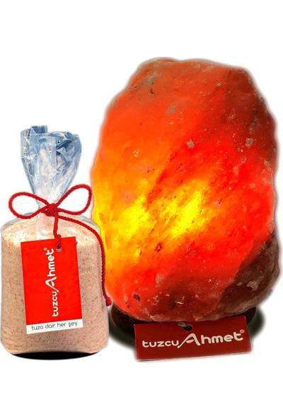 Tuzcu Ahmet 5-6 kg Himalaya Tuz Lambası + 1 kg Himalaya Tuzu