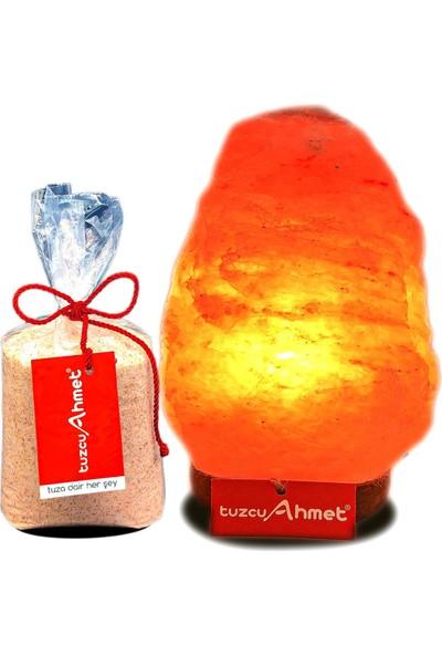 Tuzcu Ahmet 2-3 kg Himalaya Kaya Tuzu Lambası 1 kg Himalaya Tuzu Hediyeli