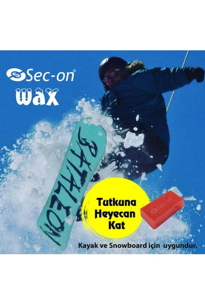 Sec-On Soğuk Wax Kayak ve Snowboard Wax
