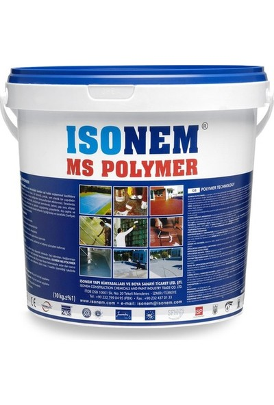 İsonem Ms Polymers Beyaz 18 kg