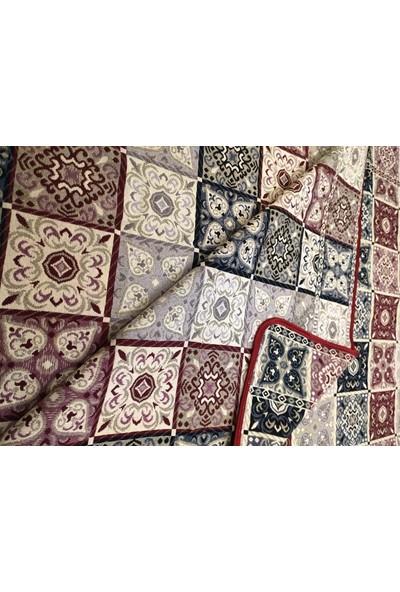 Başaran Tekstil Pachkarma Serme Biyeli Çok Amaçlı Halı Örtüsü, 4m2