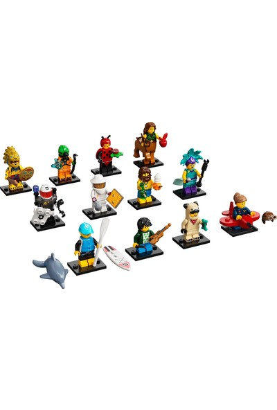 LEGO Minifigures 71029 Series 21 : Tam Seri (12 Adet)