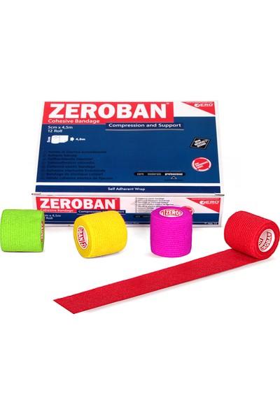 Zerosportsmed Zeroban 5cm x 4,5m Kırmızı
