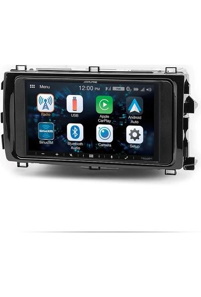 Alpine Toyota Auris Carplay Androidauto Multimedya Sistemi
