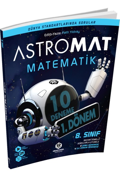 İrrasyonel Yayınları Astromat 8. Sınıf LGS 10'lu Deneme Sınavı