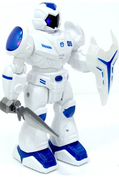 Ceren Mech Armor Işıklı Sesli Pilli Robot