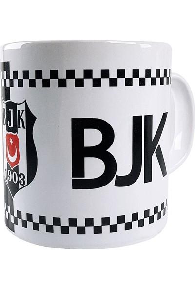 Mgm Beşiktaş Bjk Lisanslı Taraftar Seramik Kupa Bardak No:2