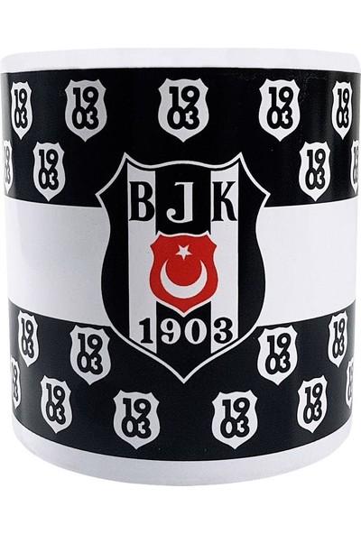 Mgm Beşiktaş Bjk Lisanslı Taraftar Seramik Kupa Bardak No:3