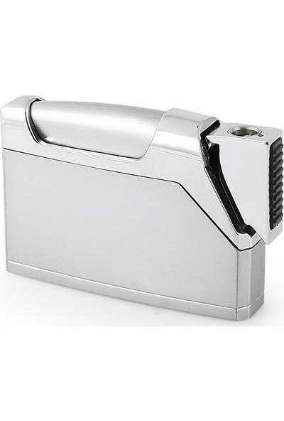 Jobon Çelik Sönmeyen Silver Çakmak JBN60001-101-A