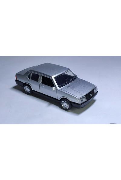 Arafat Tofaş Şahin Model Metal Araba 1/32 Ölçek Gri