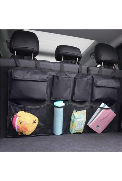 Ankaflex Araç Içi Bagaj Çantası 8 Cepli Oto Organizer Araba Bagaj Düzenleyici Çanta