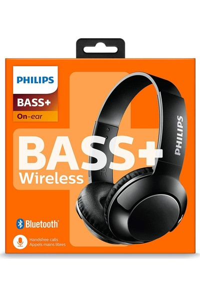 Philips SHB3075BK Bluetooth Kulaküstü Kulaklık - Siyah (Ithalatçı Garantili)