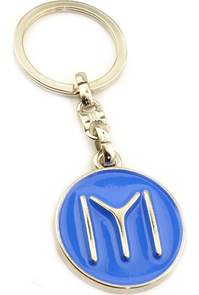 Anahtarlık Sepeti Kayı Logo Yuvarlak Anahtarlık