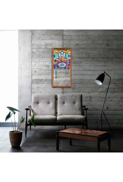 Arti2tr Dekoratif Fatma Ana Eli Ayna-Deri Saat