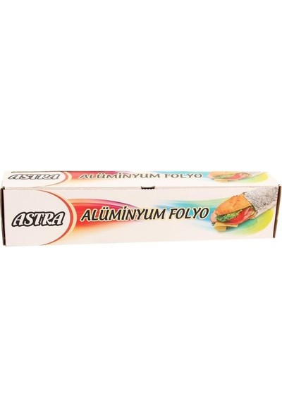 Astra Alüminyum Folyo 5 m 2'li