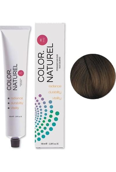 Color Naturel Saç Boyası 6.011 Doğal Yoğun Küllü Koyu Kumral 100 ml