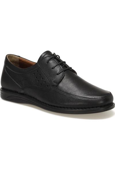 Polaris 5 Nokta 102381.M1FX Siyah Erkek Klasik Ayakkabı