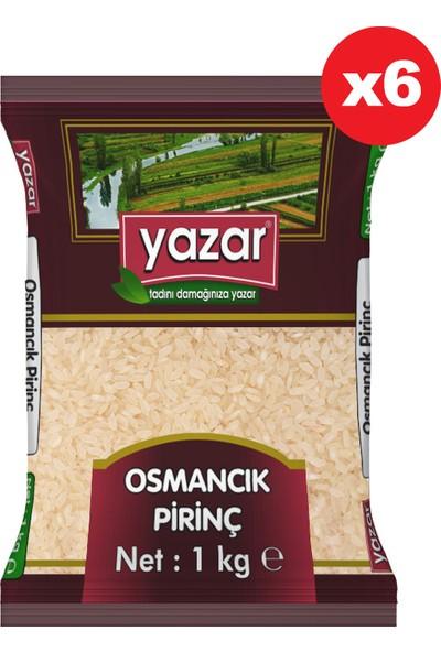 Yazar Osmancık Pirinç 1 kg x 6 'lı