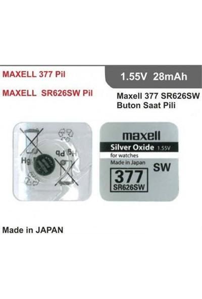 Maxell SR-626SW Para Pil (377) - Adet