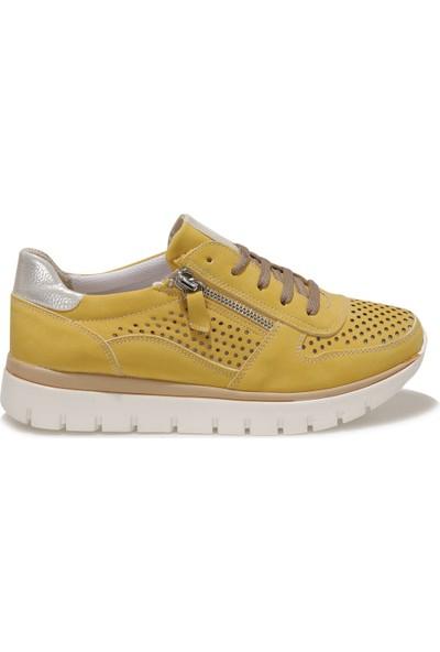 Travel Soft TRV1832.Z1FX Sarı Kadın Comfort Ayakkabı