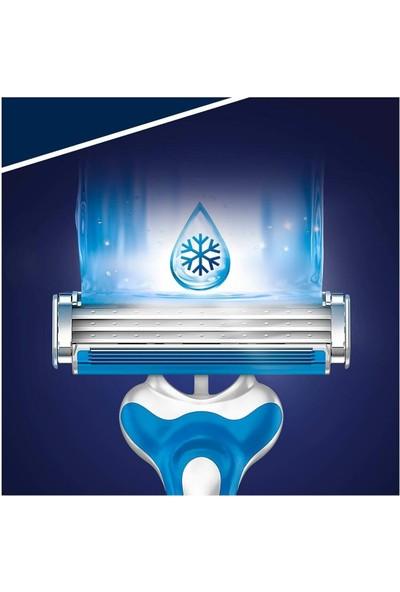 Gillette Blue3 Cool Serinletici Tıraş Bıçağı 8 Lİ x 3 Paket