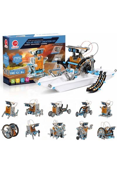 Stem 12 Model Solar Robot Oluşturma Seti (Yurt Dışından)