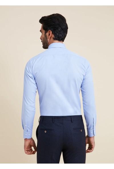 Bisse Regular Fit Italyan Yaka Gömlek