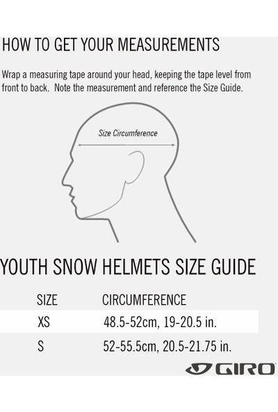 Giro Crue Mips Genç Kayak Kaskı ve Gözlük