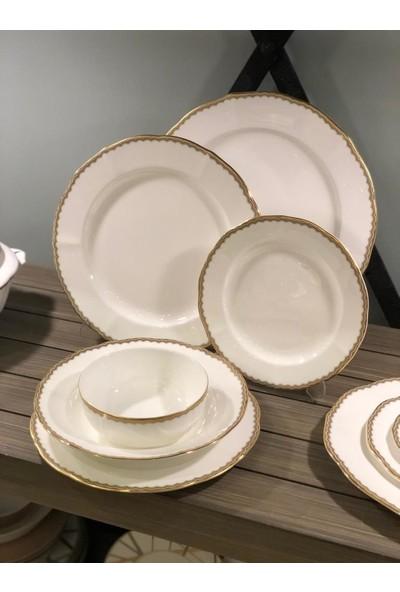 Prouna Antique Gold 72 Parça 12 Kişilik Yemek Takımı