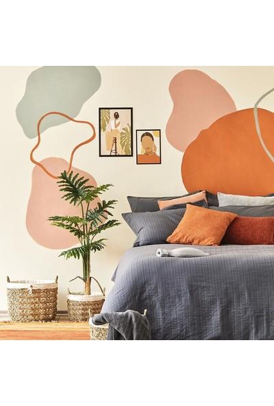 Bella Maison Arno Çift Kişilik Nevresim Antrasit 200X220 cm