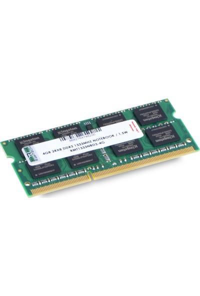 Ramtech RMT1333NBD3-4G 4 GB Ddr3 1333 Mhz Cl9 1.5 V Notebook Ram RMT1333NBD3-4G