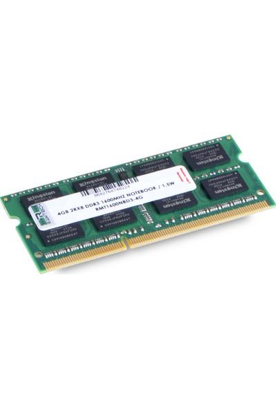 Ramtech RMT1600NBD3-4G 4 GB Ddr3 1600 Mhz CL11 1.5 V Notebook Ram RMT1600NBD3-4G