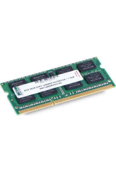 Ramtech RMT1600NBLPD3-8G 8 GB Ddr3 1600 Mhz CL11 1.35 V Notebook Ram RMT1600NBLPD3-8G