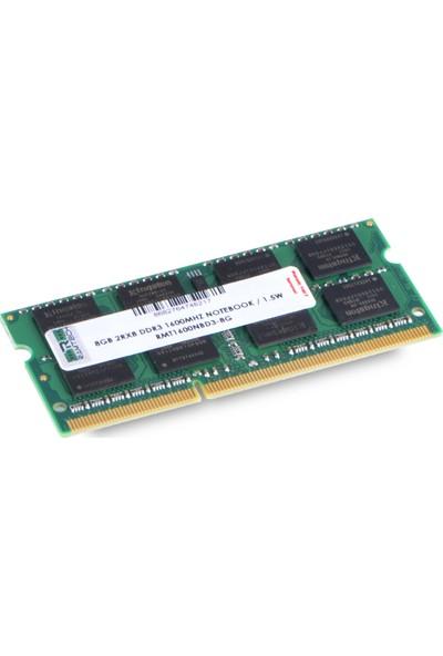 Ramtech RMT1600NBD3-8G 8 GB Ddr3 1600 Mhz CL11 1.5 V Notebook Ram RMT1600NBD3-8G