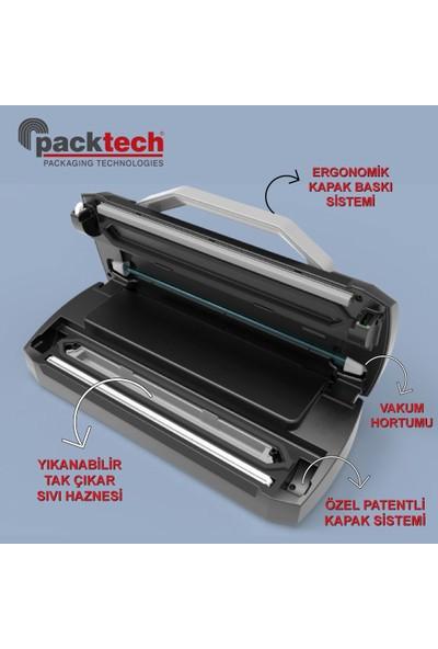 Packtech PT-VKM-D30 Sıvı Hazneli Otomatik Vakum Makinesi