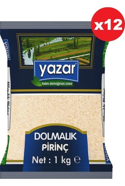 Yazar Dolmalık Pirinç 1kg 12'li