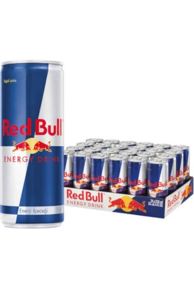 Red Bull Redbul Enerji Içeçegi 250 x 24'lü