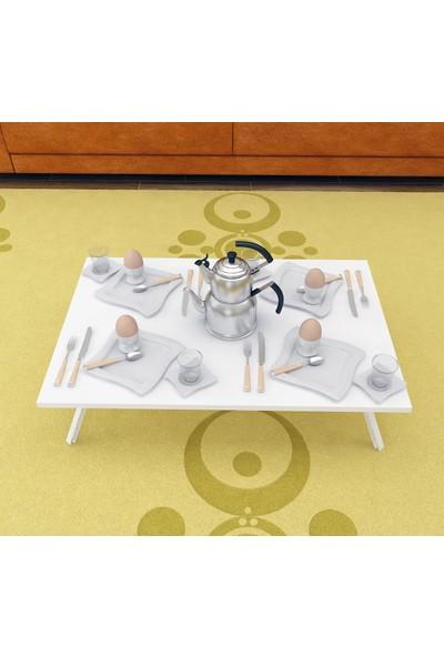 Bayz Yer Sofrası Katlanır Kahvaltı Yemek Masası Hamur Açma Masası