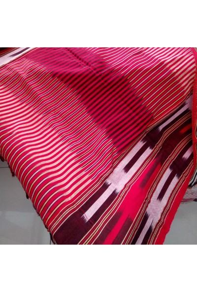 Mlstil Çizgili Saçaklı Pamuklu Karışık Renkli 100 X 160 Dikdörtgen Peştemal